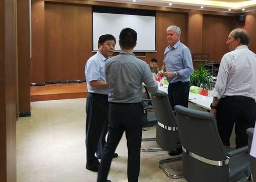 德国百菲萨集团铝事业部总裁费德里戈一行到许昌对接铝灰处理项目