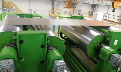 六冶工装公司天津忠旺项目涂层线安装工程顺利进入负荷试车阶段