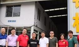 监事长张思恩带队走访会员企业,关注企业成长,交流发展经验