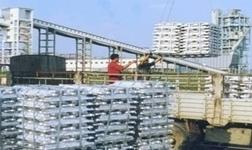 秦皇岛港出口散装铝锭首航美国底特律