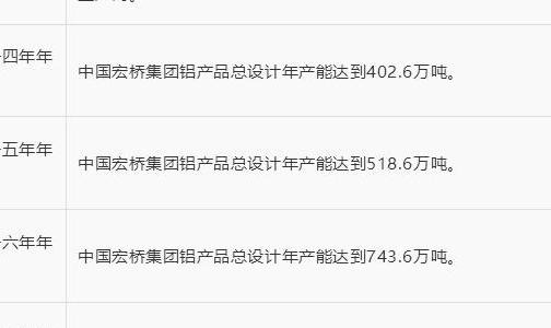 全球铝业龙头企业盘点――(山东魏桥)中国宏桥