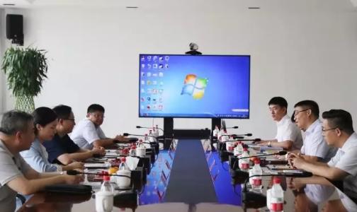 汕头市投资促进局赴天津忠旺铝业有限公司考察调研