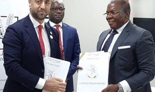 向几内亚政府提供7500万美元优贷用于支持社会经济发展重点项目