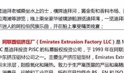 迪拜之铝 9月23日中国铝企业赴迪拜考察――感受充满灵感与智慧的城市经营