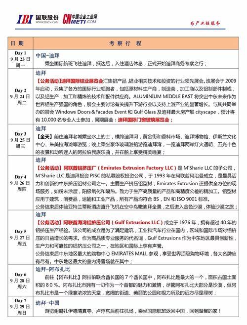 迪拜之铝|9月23日中国铝企业赴迪拜考察――感受充满灵感与智慧的城市经营