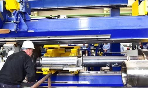 西北铝特种行业铝合金材料产业化项目36MN主机热负荷调试取得成功
