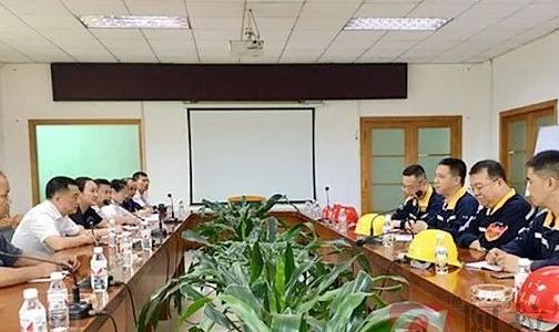 广西华磊营销采购部和电解铝厂联合开展用户走访活动