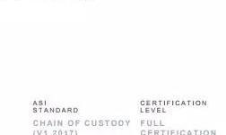 安姆科生产设施通过铝业管理倡议ASI绩效标准和监管链标准双认证