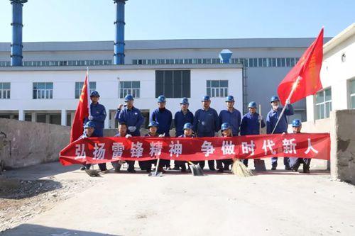 东兴铝业公司青年突击队助力生产经营