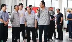 示范区(高新区)党工委书记刘文祥陪同省发改委调研组一行调研外贸工作