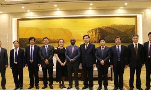 加纳驻华大使到访滨州:希望能与滨州开展铝业方面的合作