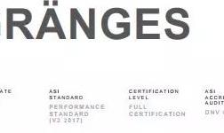 格朗吉斯铝业(上海)通过铝业管理倡议ASI绩效标准认证