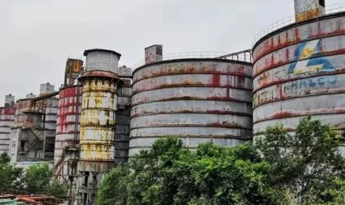 """啃下""""硬骨头""""――青铝公司8000吨大罐清料工作取得阶段性胜利"""