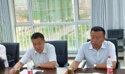 驻市派民营企业高质量发展服务二队与山东泰义金属科技有限公司对接