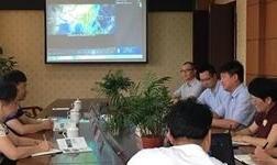 中国铝业协会会长曾黎滨一行应邀前往四川广安市 考察产业发展情况