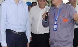 市委副书记、市长谭成旭视察贵州水城力威铝业科技有限公司