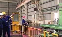 来宾银海铝公司与正润新材公司进行现场管理经验交流