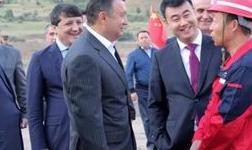 塔吉克斯坦总理视察华钰矿业塔铝金业康桥奇矿山