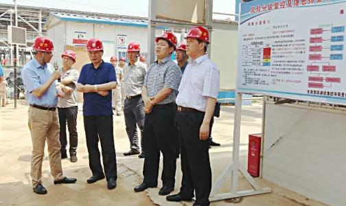 省工信厅厅长李涛带队调研宝武铝业铝深加工项目