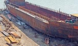 英辉造船两艘全铝合金引航交通船开工