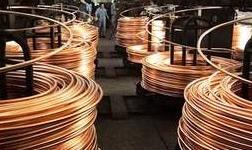 中国7月份精炼铜产量同比增长4.8%