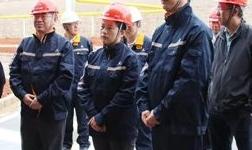 中国铝业集团有限公司副总经理卢东亮到鹤庆调研