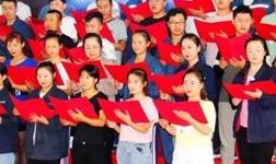 天山铝业成立九周年庆典文艺节目紧张排练