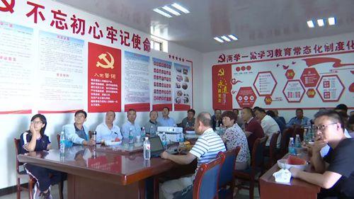 北京北方车辆集团公司董事长许长兴来我县调研