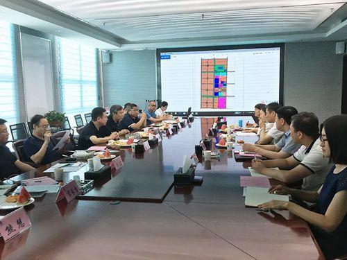 中建铝副总经理毛�f赴新疆生产建设兵团十一师考察洽谈