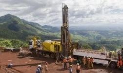 艾芬豪卡莫阿北部富矿区开采出历史*高品味18%的铜
