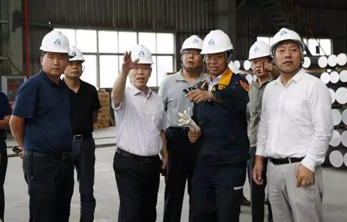 省专家组到我县调研铝产业工作