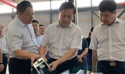 高新區委書記王廣部到公司調研