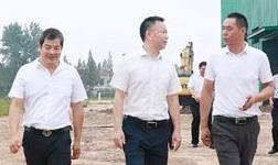 监利县委书记黄镇、县长韩旭一行到华中生态铝产业园调研