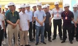 中国有色金属加工工业协会副理事长章吉林率队到公司参观调研