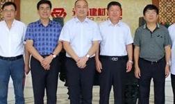 中国模板脚手架协会领导赴湖南走访考察