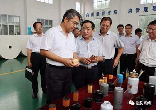 县委书记杜建华到部分重点企业调研