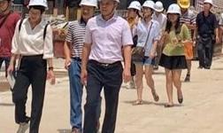 藤县审计局到国悦・九曲湾项目走访调研铝模施工工艺