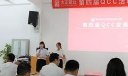大正铝业13周年庆暨第四届QCC活动发表会成功举办
