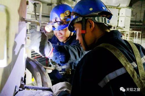 天山铝业发电事业部机组秋季计划检修稳步推进