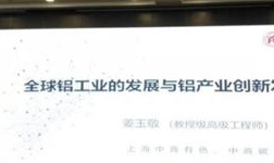 中商碳素研究院姜玉敬院长应百色铝业协会大会邀请做铝工业专题讲座