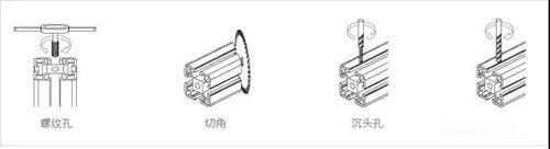常用的四種鋁型材加工