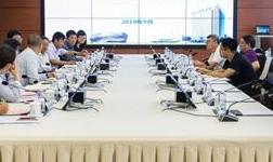 内蒙古电力公司市场营销部部长金振华一行赴鄂尔多斯电业局调研