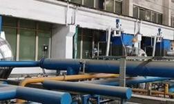 贺河南某铝业集团14台退火炉安装我公司余热回收装置成功运行