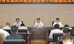 陕西有色集团公司召开经济责任审计问题整改启动会
