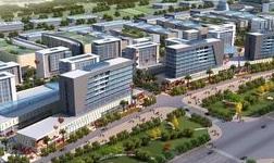 北京安义商会到河流镇陆港物流园区考察洽谈铝产业发展