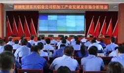 东兴铝业公司举办铝产业发展和市场分析培训