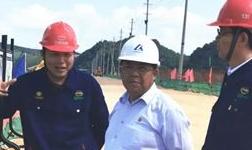 文山市委书记李云龙到公司调研水电铝项目建设情况