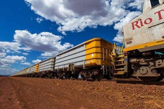 力拓2019年铁矿石出货量下降3% 铝土矿产量增长28%