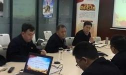 周江为中建铝党员干部宣讲党的十九届四中全会精神