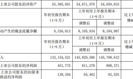 中國鋁業前三季度原鋁產量276萬噸 同比減少2.82%